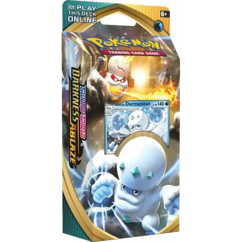 Pokemon - Sword & Shield Darkness Ablaze - Theme Deck - Galarian Darmanitan