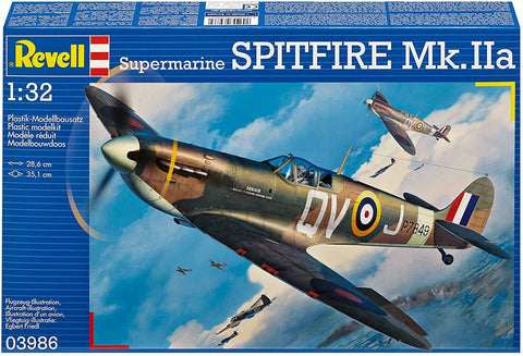 SUPERMARINE SPITFIRE MK IIA 1:32 Model Kit