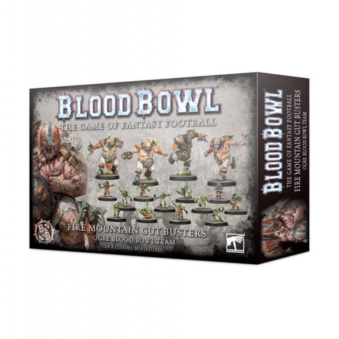 Fire Mountain Gut Busters Ogre Blood Bowl Team