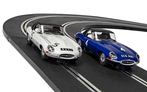 Jaguar E-Type First Race Win 1961 - Twin Pack - Limited Edition