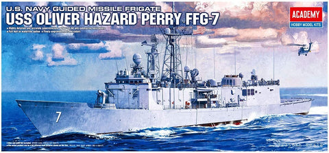 USS Oliver Hazard Perry FFG-7 1:350 Model Kit