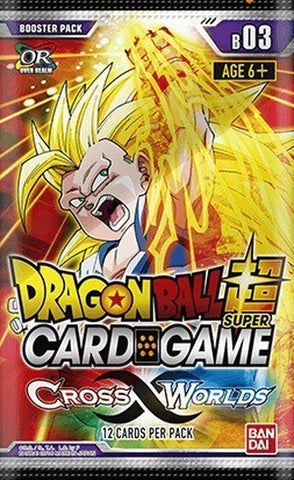 Dragonball Super Card Game: Cross Worlds Booster