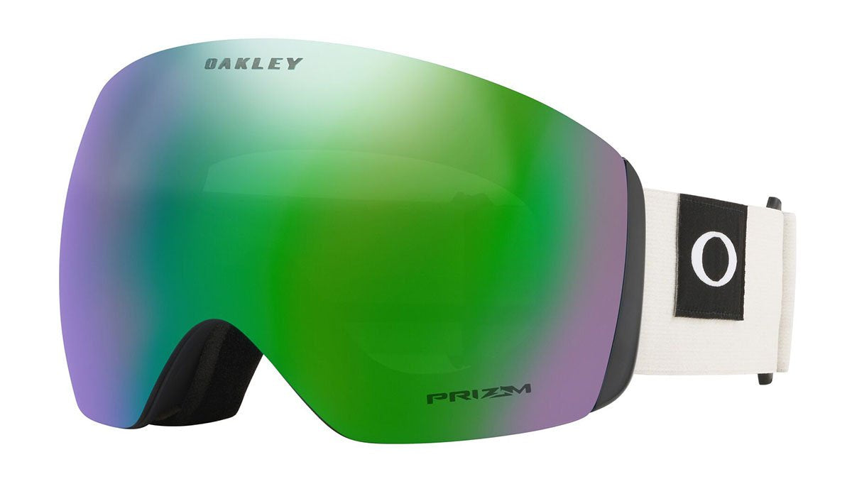 Oakley Flight Deck Blocked Out Dark Brush Grey Prizm Jade Goggles