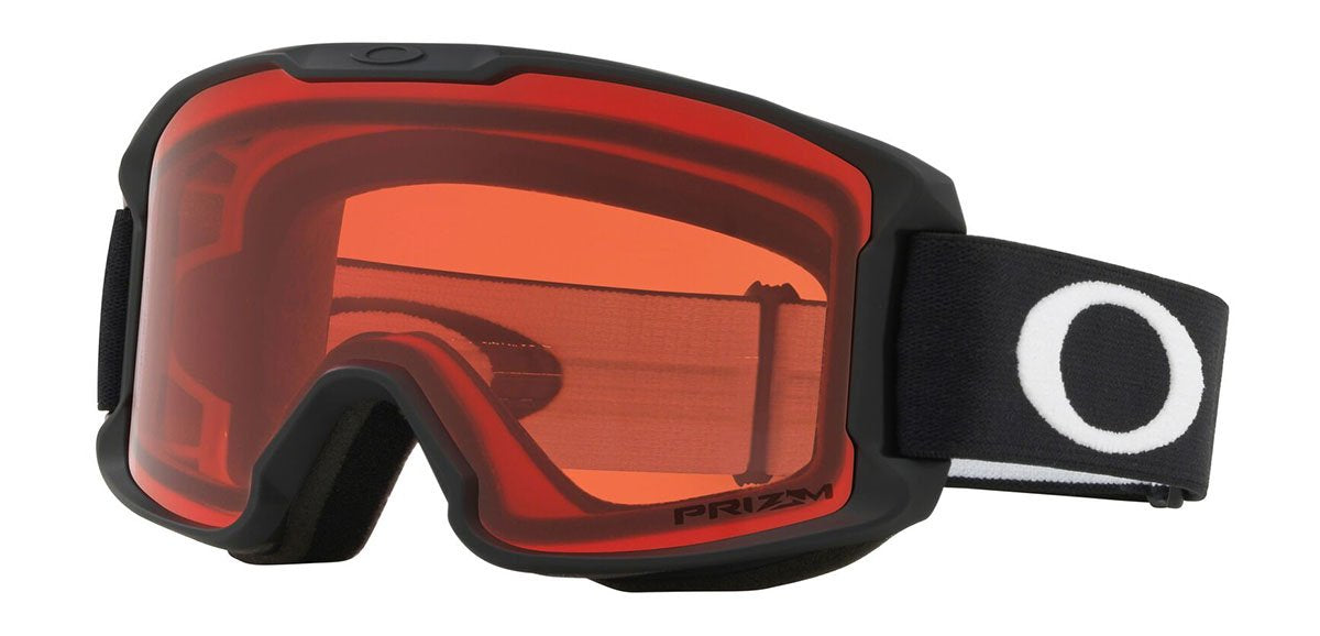 Oakley Line Miner Youth Matte Black Prizm Rose Goggles