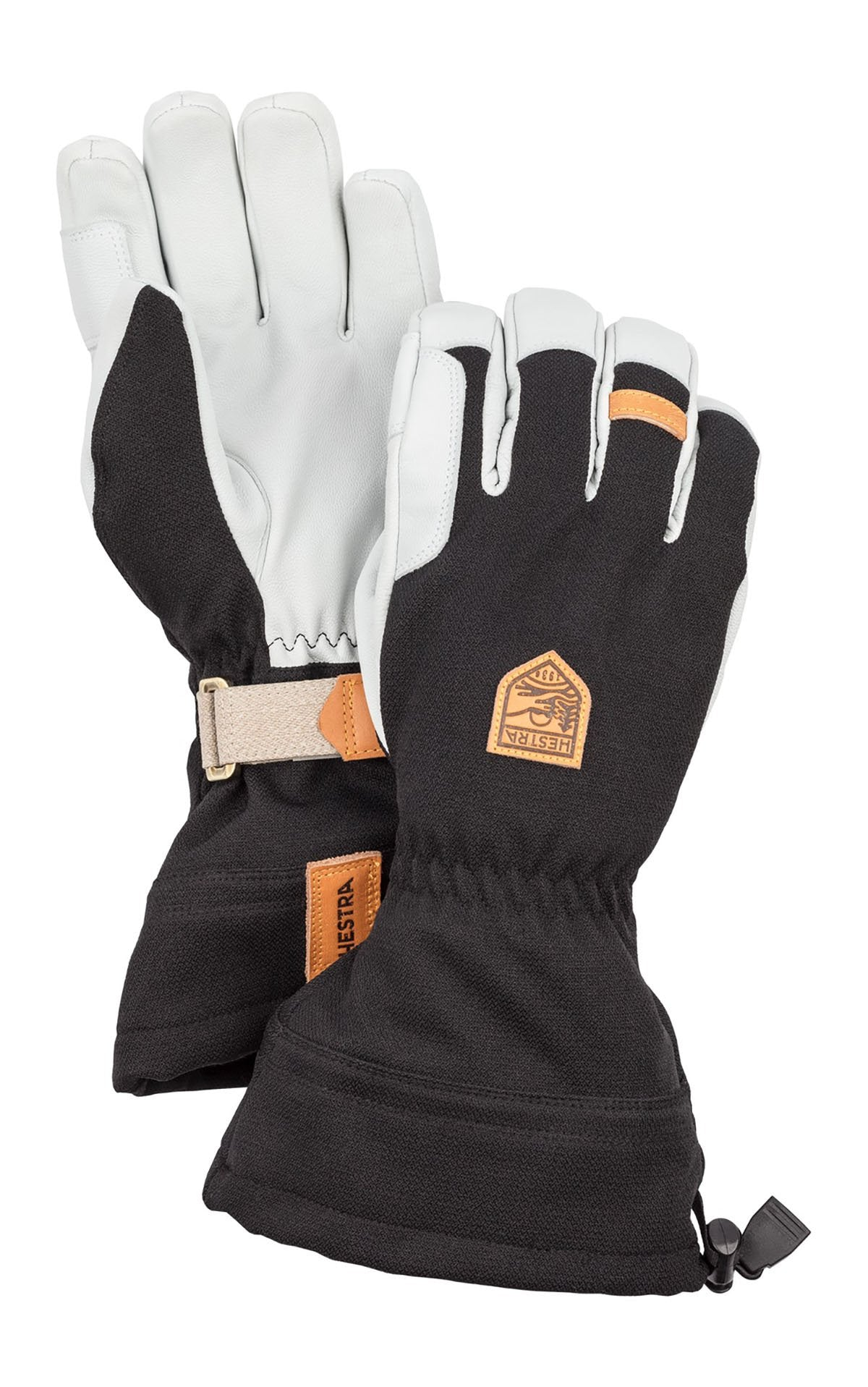 Hestra Army Leather Patrol Gauntlet 5-Finger Skidhandskar