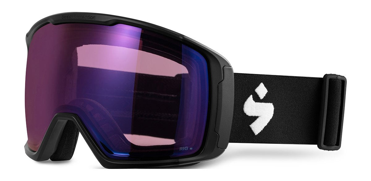 Sweet Protection Clockwork Max RIG Matte Black / RIG Amethyst Goggles
