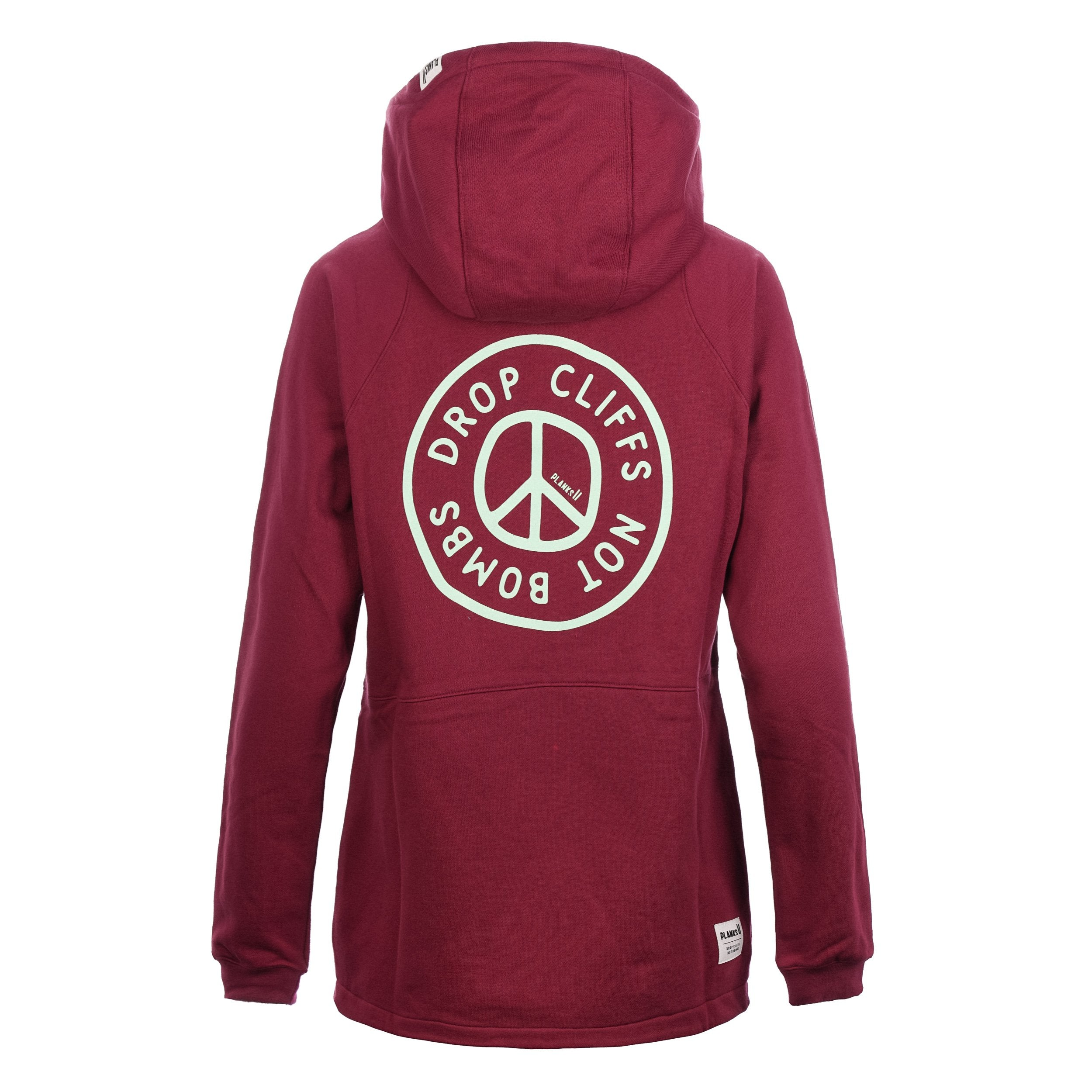Planks peace double Hoodie