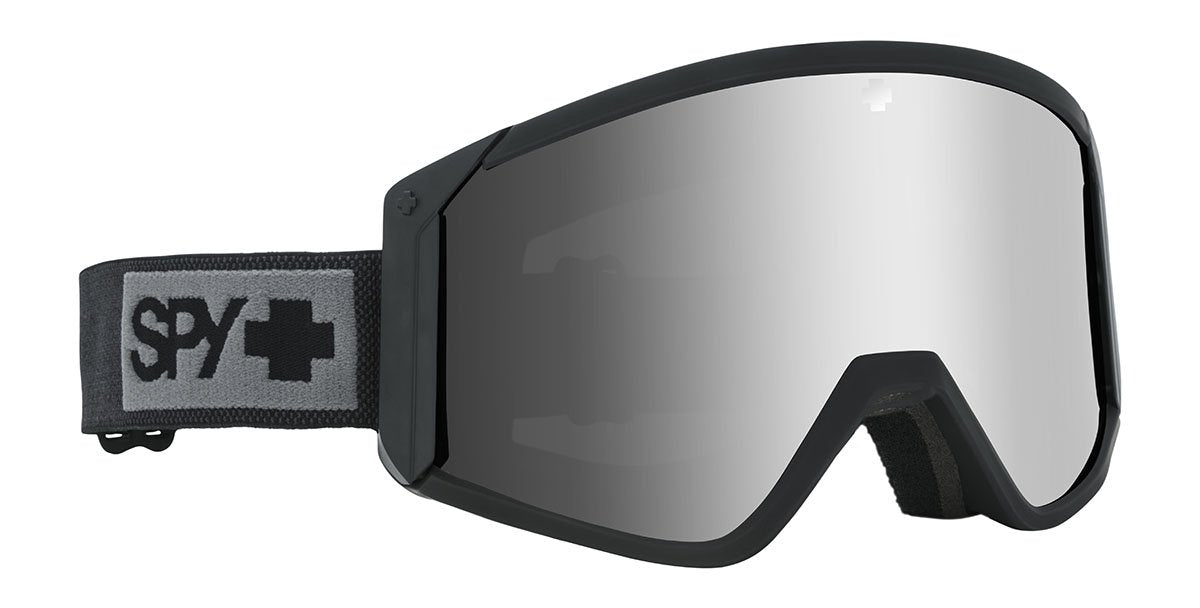 Spy Raider Matte Black Goggles