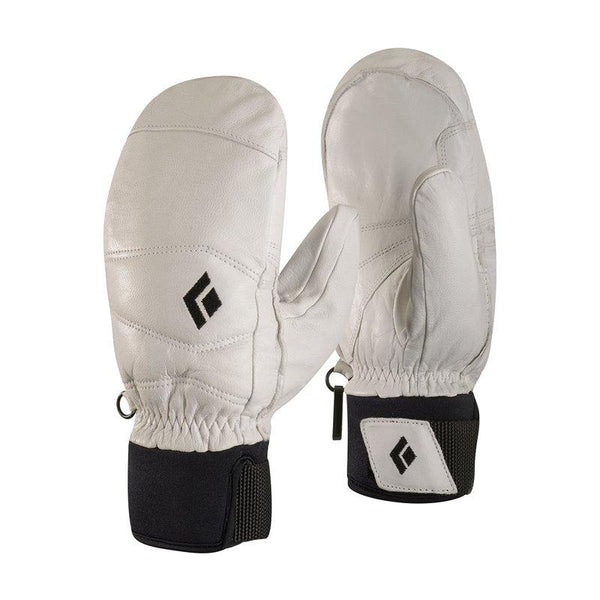Black Diamond Women's Spark Mitt - White - Blacksnow