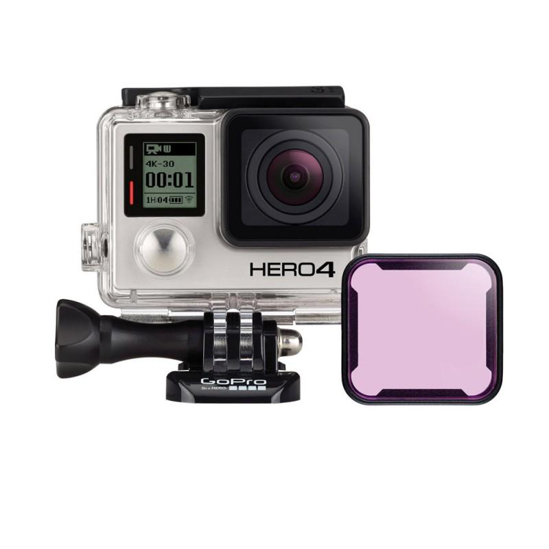 GoPro Magenta Dive Filter for Standard Housing (HERO3+) - - Blacksnow