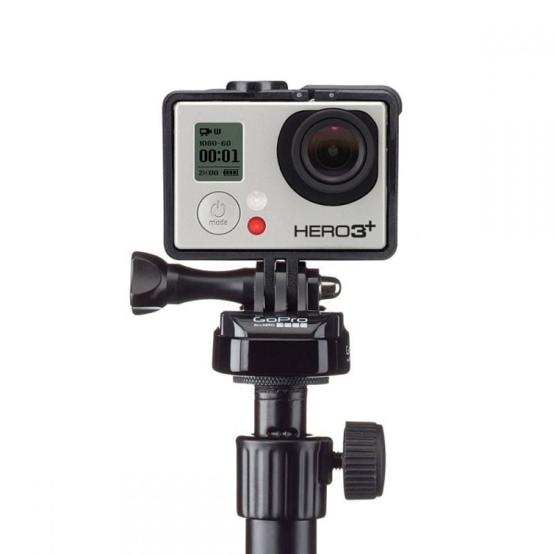 GoPro Mic Stand Adapter - - Blacksnow