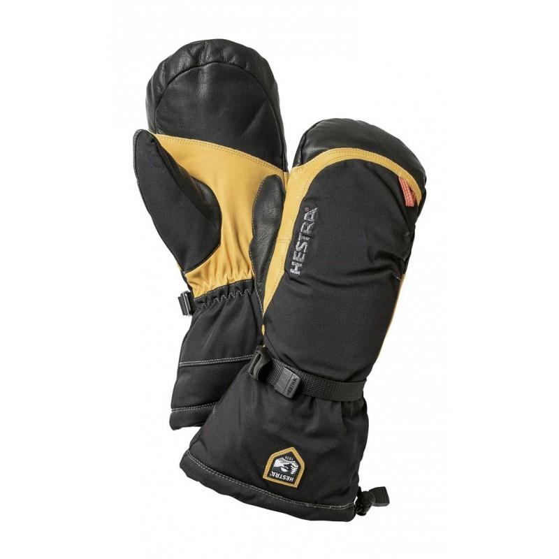 Hestra Army Leather Expedition Mitt - - Blacksnow