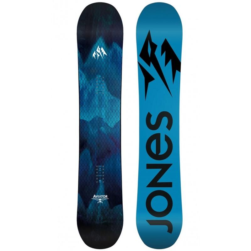 Jones Aviator Snowboard 2018 - 156 CM - Blacksnow