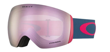 Oakley Flight Deck Poseidon Strong Red Prizm HI Pink Goggles