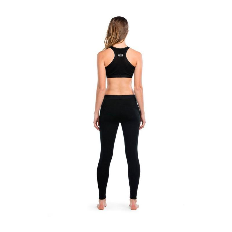 Mons Royale La Glisse Leggings - - Blacksnow