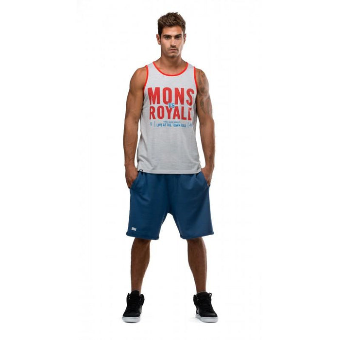 Mons Royale Rocky Shorts - SMALL - Blacksnow