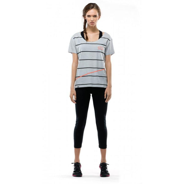 Mons Royale Slouchy T - SMALL - Blacksnow