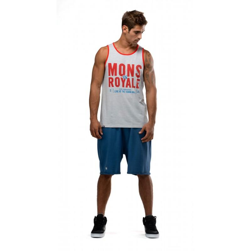 Mons Royale Tank - Grey - Blacksnow