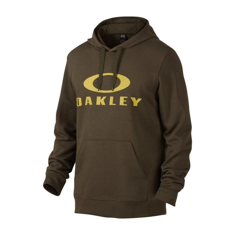 Oakley DWR Ellipse P/O Hoodie - Dark Brush - Blacksnow