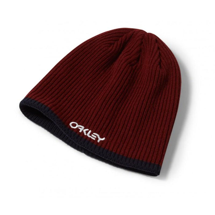 Oakley Factory Flip Beanie - Iron Red - Blacksnow