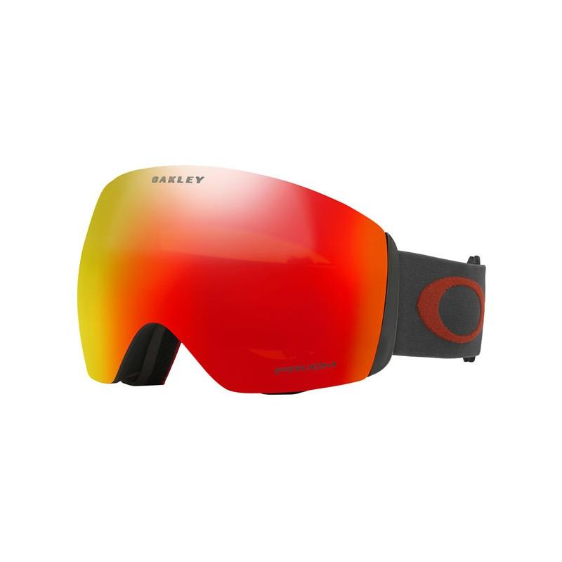 Oakley Flight Deck Goggles Iron Brick Prizm Torch Iridium - - Blacksnow