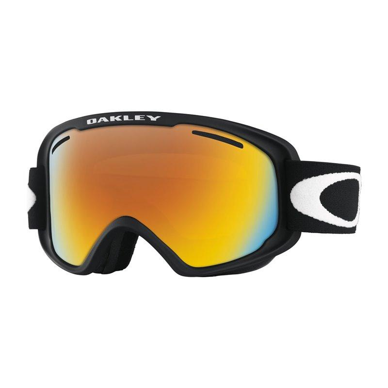 Oakley O2 XM Goggle Matte Black / Fire Iridium - - Blacksnow