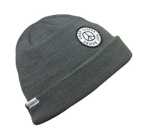 Planks Peace Mössa 2018 - Dark Heather Grey - Blacksnow