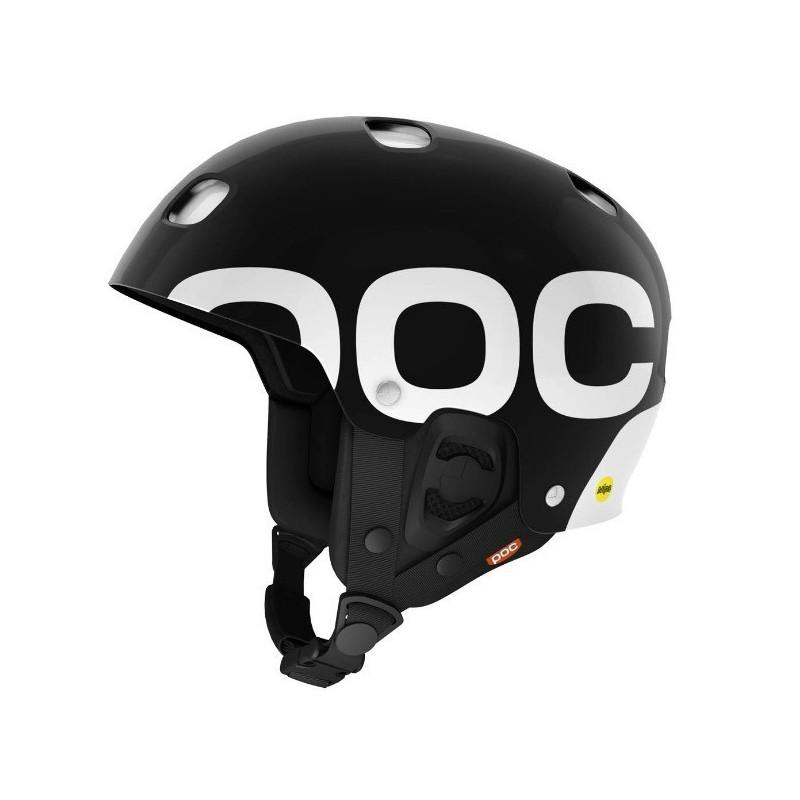 POC Receptor Backcountry MIPS Helmet - Uranium Black - Blacksnow