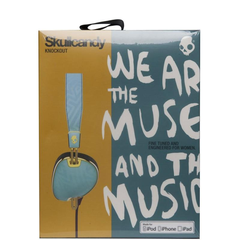 Skullcandy Navigator Knockout - Tiffany/Smoked Purple/Gold - Blacksnow