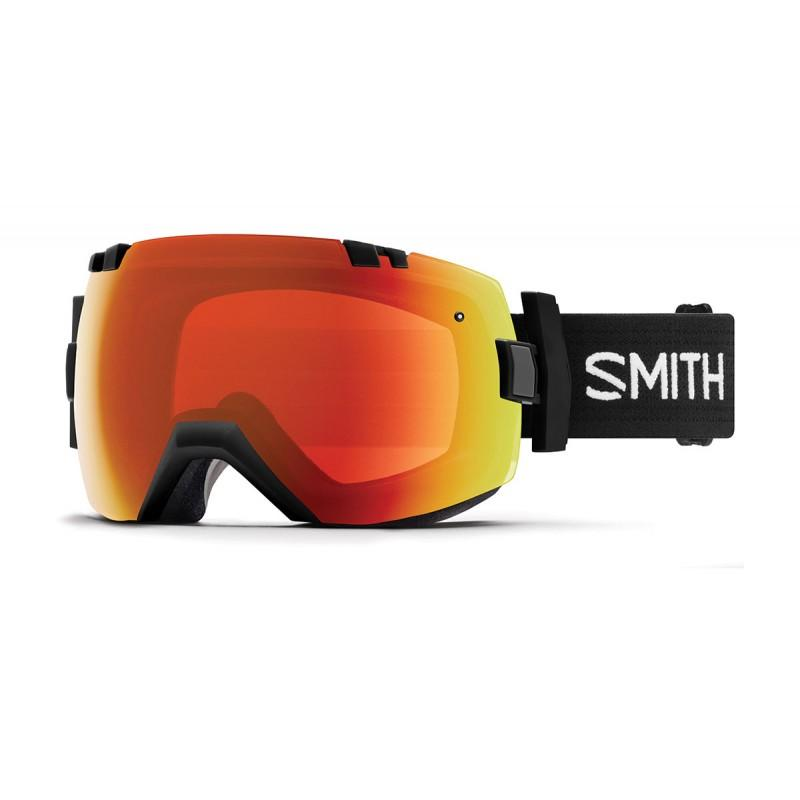 Smith Optics I/OX Goggles 2018 - Red Mirror - Blacksnow