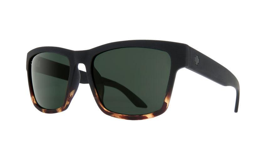 Spy Haight Soft Matte Black w. Tort Fade / Happy Gray Green Solglasögon