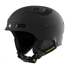 Sweet Protection Trooper MIPS Skidhjälm - Dirt Black - Blacksnow