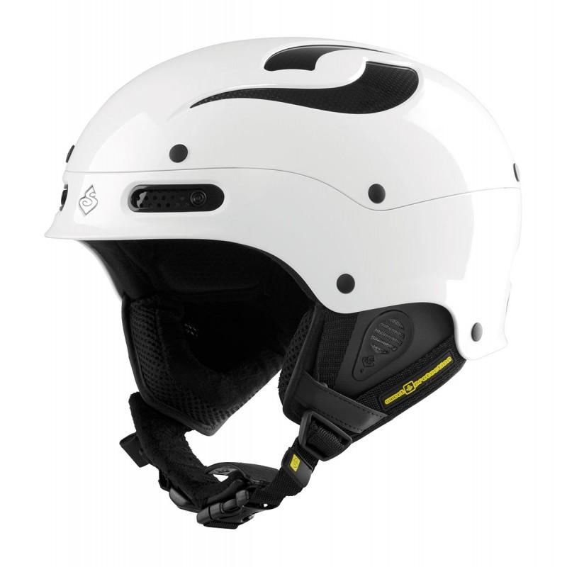 Sweet Protection Trooper MIPS Skidhjälm - Gloss White - Blacksnow