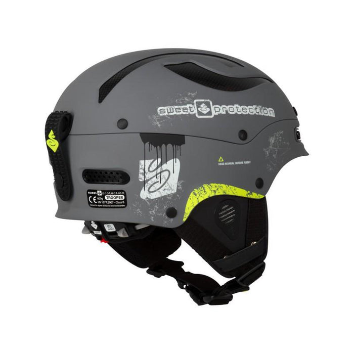 Sweet Protection Trooper Team Edition - Battle Grey - Blacksnow