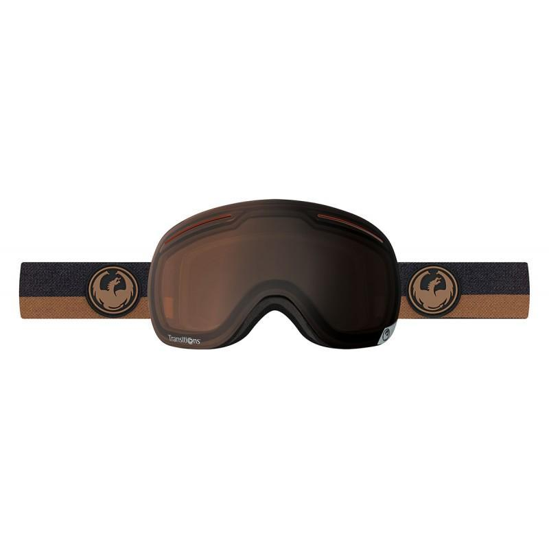 Dragon X1 Goggles Flux Brown