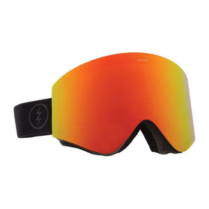 Electric EGX Goggles Matte Black - Brose/Red Chrome