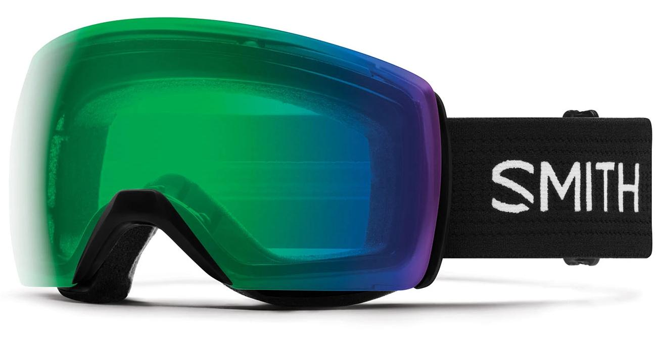 Smith Skyline XL Black/Everyday Green Mirror Goggles