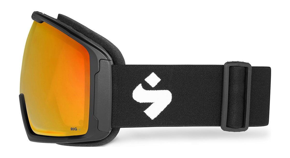 Sweet Protection Clockwork Max RIG Matte Black / RIG Topaz Goggles