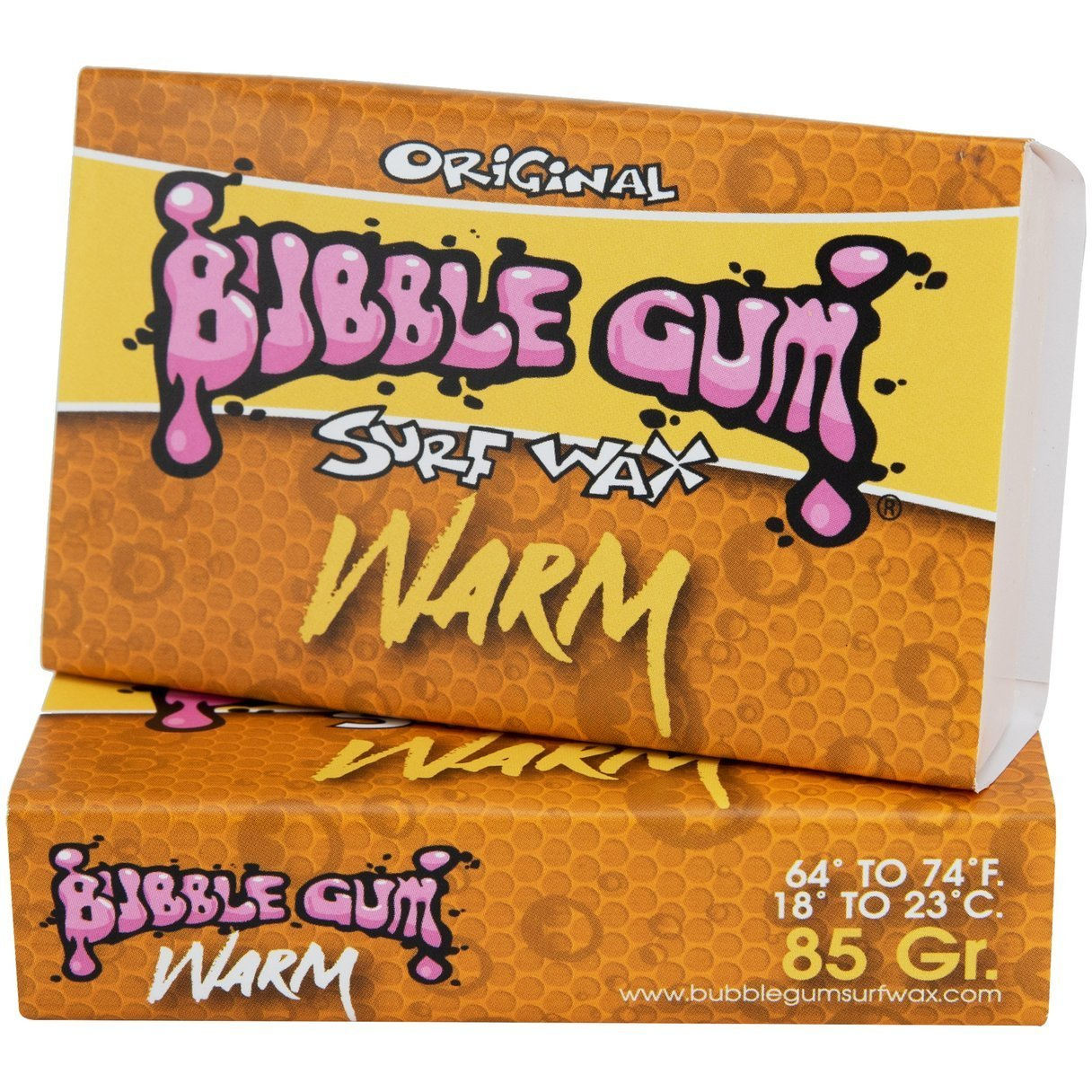 Bubble Gum Orange Surf Wax Warm 18-23°C