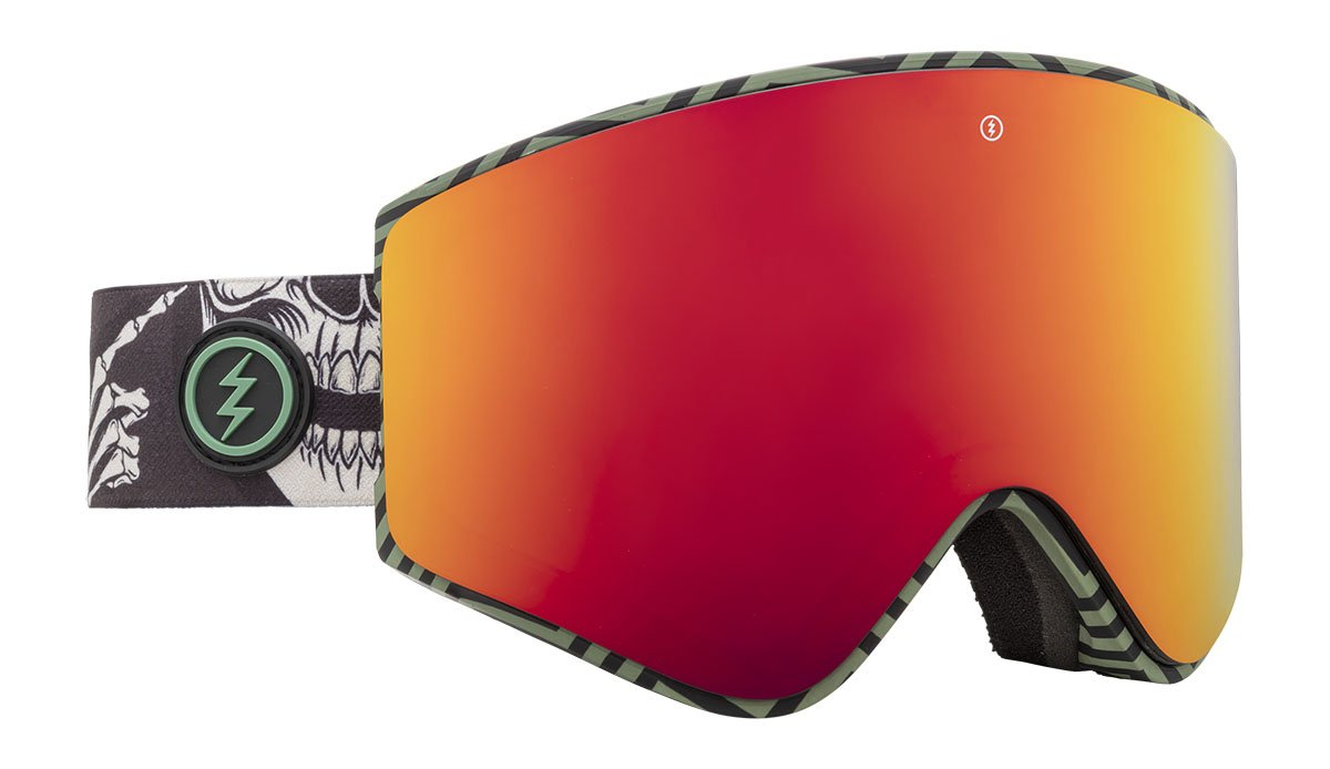 Electric EGX Torgier Gregg Brose / Red Chrome Goggles