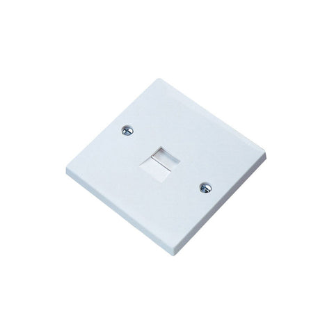 Single Flush Mount LJU Faceplate