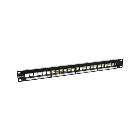 Keystone Jack Unloaded Patch Panels