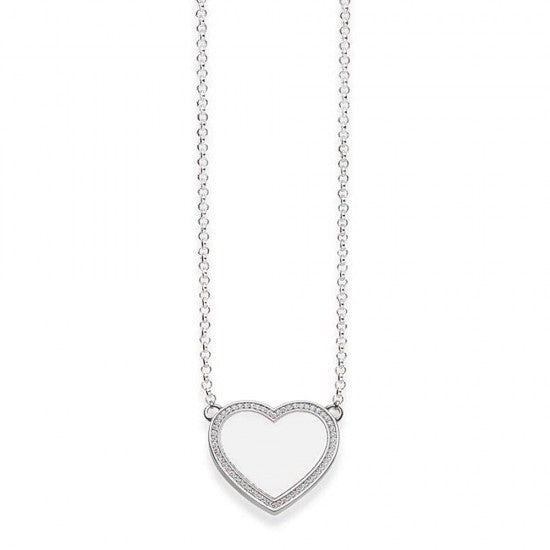 Thomas Sabo Heart shaped engravable necklace 40cm