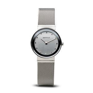 Bering Silver Mesh Ladies Watch