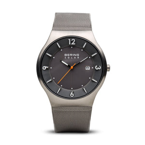 Bering Mesh Solar Mens Watch