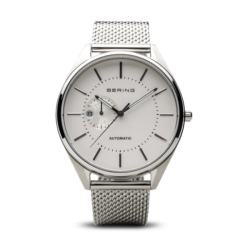 Bering Mesh Automatic Mens Watch