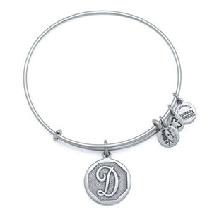 "Alex and Ani Silver ""D"""
