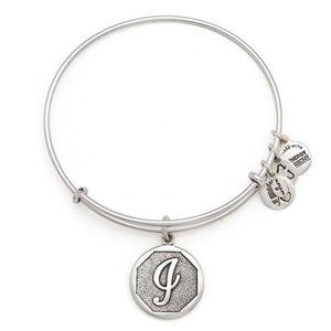 "Alex and Ani Silver ""I"""