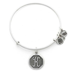 "Alex and Ani Silver ""K"""