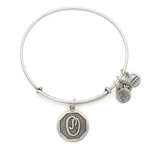 "Alex and Ani Silver ""O"""